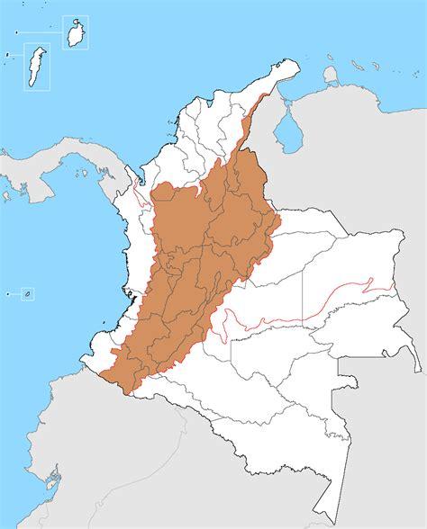 GEOGRAFÍA DE COLOMBIA: GEOGRAFÍA COLOMBIANA