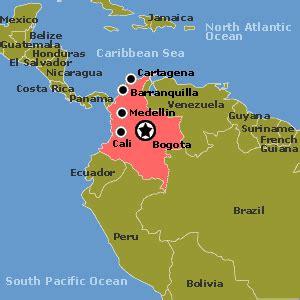 Geografia de Colombia - Informacion Geografica de Colombia ...