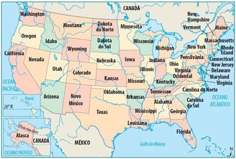 Geografia dos Estados Unidos - Cola da Web