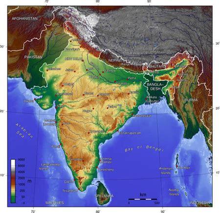 Geografía india