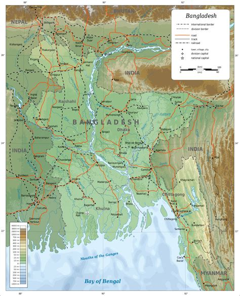 Geography of Bangladesh - Wikipedia