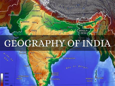 Geography Of India by Kayla Jones