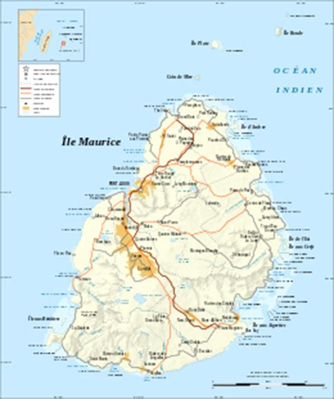 Geography of Mauritius - Wikipedia