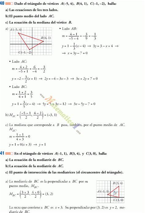 GEOMETRIA ANALITICA CUARTO DE SECUNDARIA – 4 ESO ...