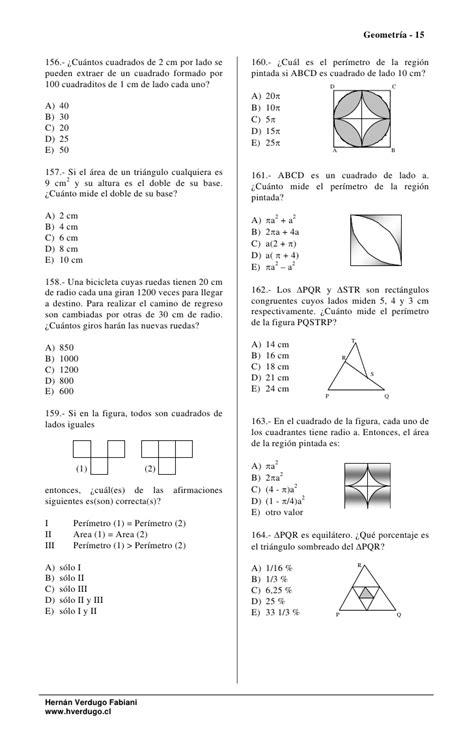 Geometria area perimetro