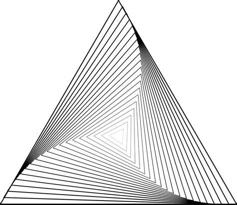 Geometria Triângulos Curvo · Gráfico vetorial grátis no ...