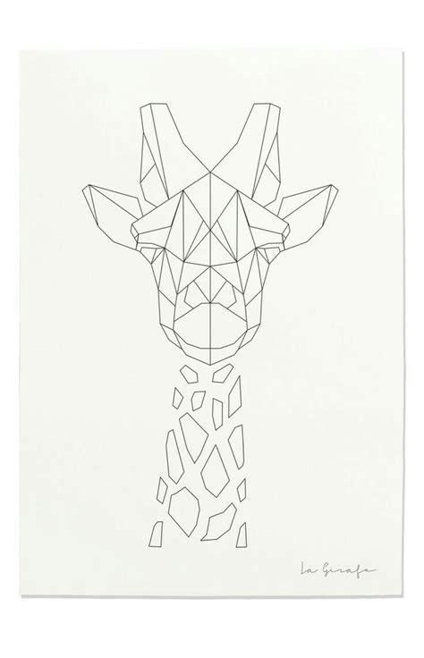 Geometric jirafa | freson | Pinterest | Jirafa, Dibujo y ...