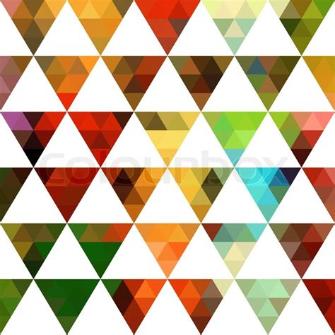 Geometric pattern of triangles shapes. ...   Stock Vector ...