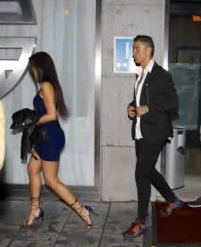 Georgina Rodriguez with Cristiano Ronaldo out in Madrid ...