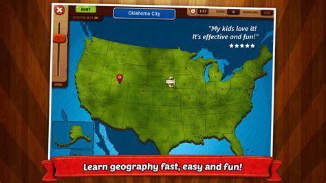 GeoVuelo Estados Unidos: aprender Geografía de América ...