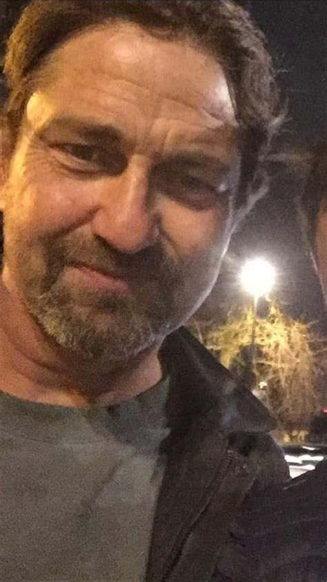 Gerard Butler Feb 16 2018 London   Yummy Men   Pinterest