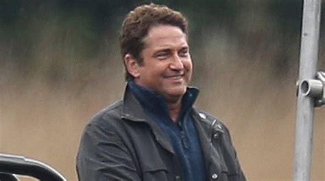 Gerard Butler Films 'Angel Has Fallen' on a Lake in London ...