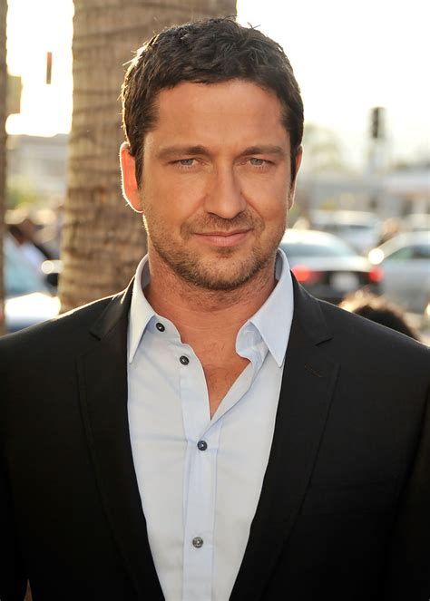Gerard Butler in Premiere Of Columbia Pictures   The Ugly ...