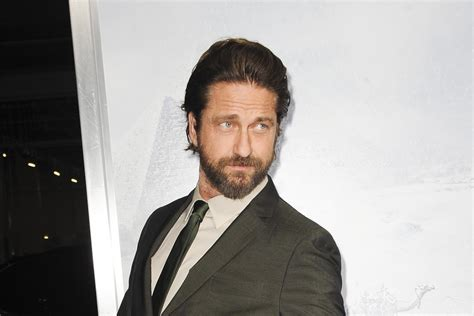 Gerard Butler: 'My pecs couldn't handle wire work for ...