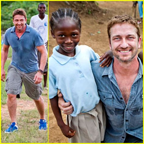 Gerard Butler Visits Liberia with Mary's Meals – All the ...