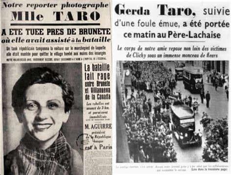Gerda Taro, il coraggio di una donna ai tempi della guerra ...