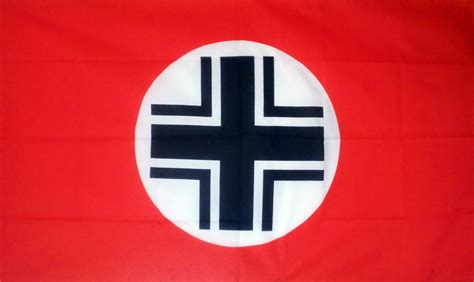 GERMAN WW2 BALKENKREUZ NAZI - 5 X 3 FLAG