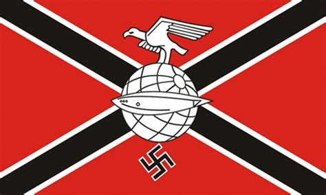 GERMAN ZEPPELIN CORPS NAZI - 5 X 3 FLAG