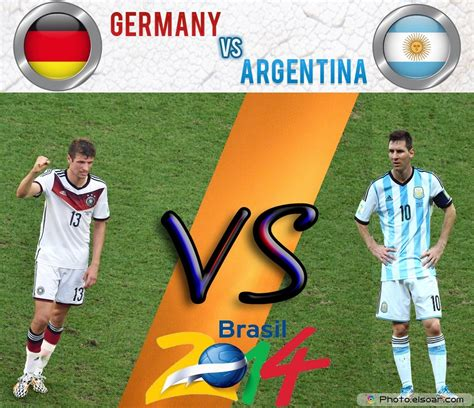 Germany v Argentina : World Cup 2014 Final Match – Watch ...