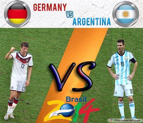 Germany v Argentina : World Cup 2014 Final Match – Watch ...