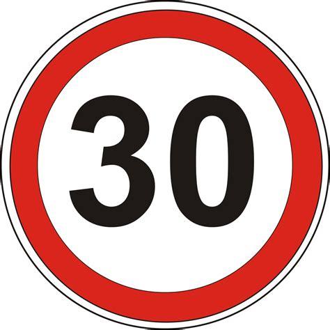Geschwindigkeitsschild 30 – ADFC Blog