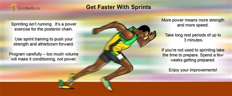 Get Faster With Sprints | Workout & Exercises articles ...