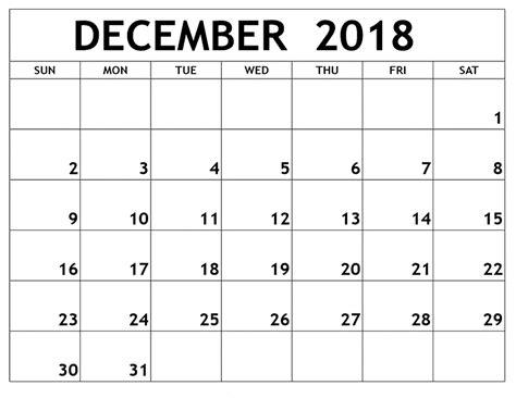 Get Free Download November & December 2018 Printable ...