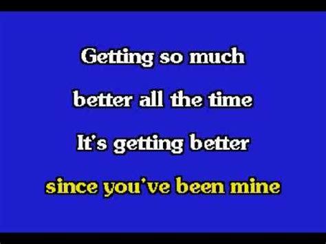 Getting Better - The Beatles Letra con Traducción en ...
