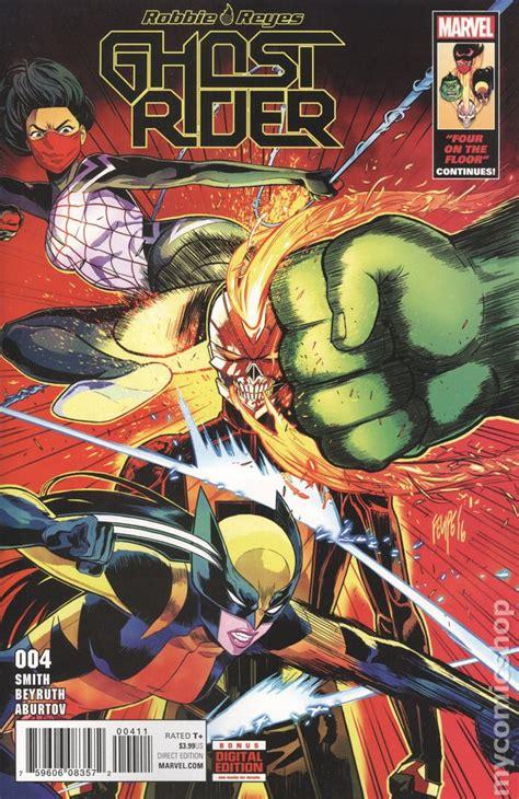 Ghost Rider  2016 Marvel  Robbie Reyes comic books