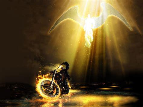 Ghost Rider & Angel Fondo de Pantalla and Fondo de ...