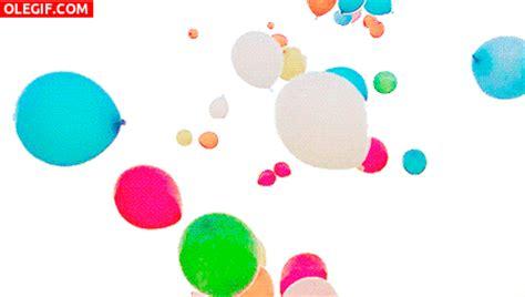 GIF: Globos de colores (Gif #5468)