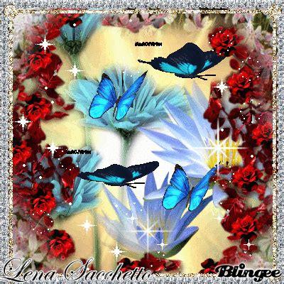 GIFS HERMOSOS: mariposas y flores encontradas en la web ...