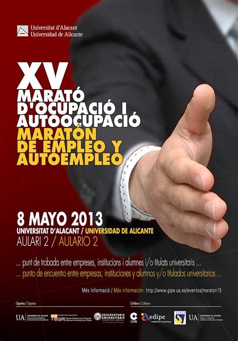 GIPE   XV Maratón de Empleo y Autoempleo