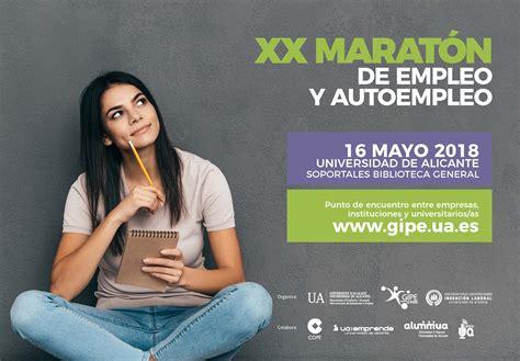 GIPE   XX Maratón   Feria de Empleo y Autoempleo