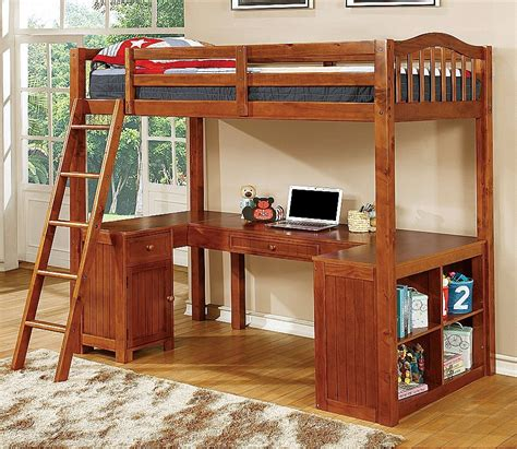 Girls Loft Bunk Bed With Desk Underneath : Look For A Loft ...