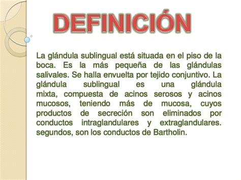 Glandula sublingual enoc