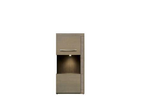 Glass-door cabinet Iberia 58cm x 123,5cm x 42cm ...
