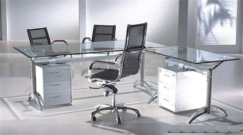 Glass Top Contemporary Office Desks All Contemporary ...