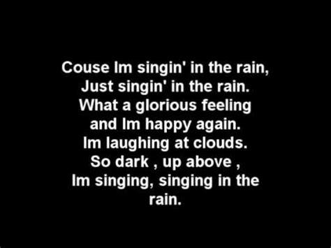 GLEE - Singin' in the Rain / Umbrella Lyrics + Download ...