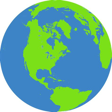 Globe Earth World · Free vector graphic on Pixabay
