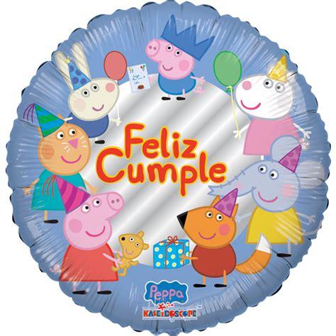 Globilandia   Catalogo de Globos Felicidades Feliz Cumpleaños