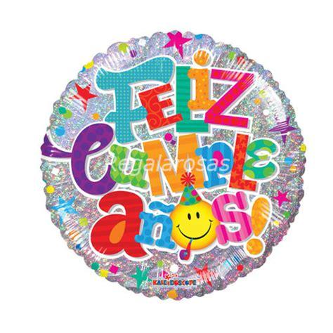 Globo con helio feliz cumpleaños – Flores a domicilio