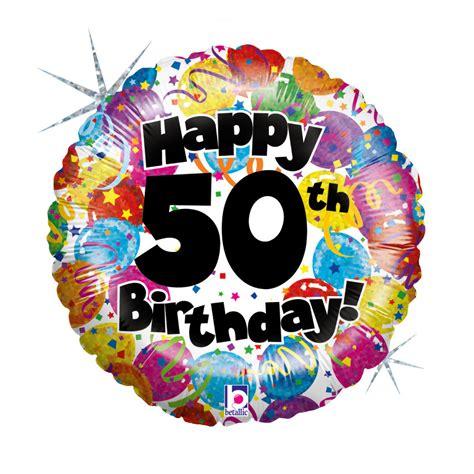 Globo de helio - 50 cumpleaños | Regalos.es