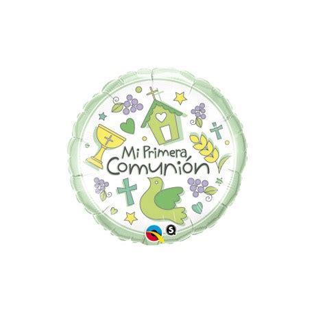 globo MI PRIMERA COMUNIÓN foil en globos para comuniones