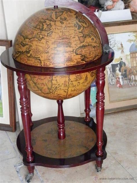 globo terraqueo o bola del mundo en madera con   Comprar ...
