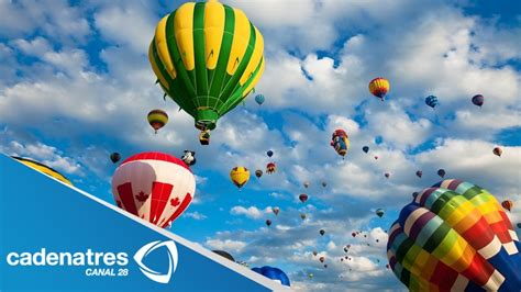 Globos aerostáticos pintan el cielo de millones de colores ...