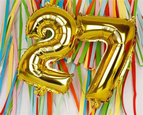 globos cumpleanos numero regalo | Sorprende con dulzura ...