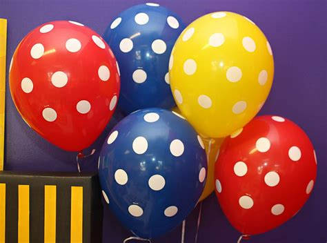 Globos de colores para fiestas infantiles   Blog de juguetes