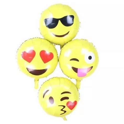 Globos Emoji Metálico 45cm Mylar Inflado C/helio Globo Fun ...