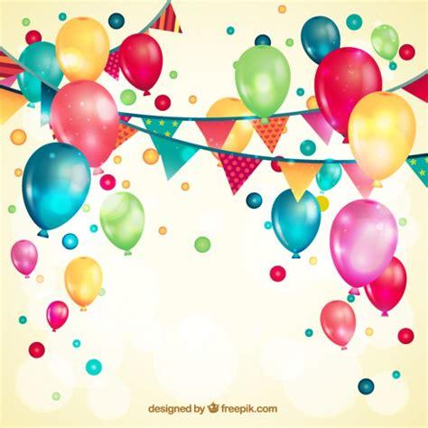 Globos vector de cumpleaños y gratis - recursos WEB & SEO
